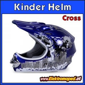 X-treme Kinder Cross Helm