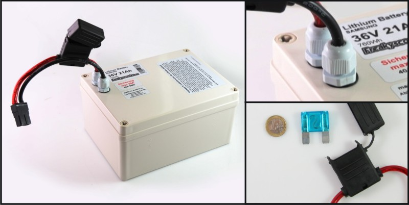 Elektro Scooter, eBikes, Li ion Batterien and more 36V