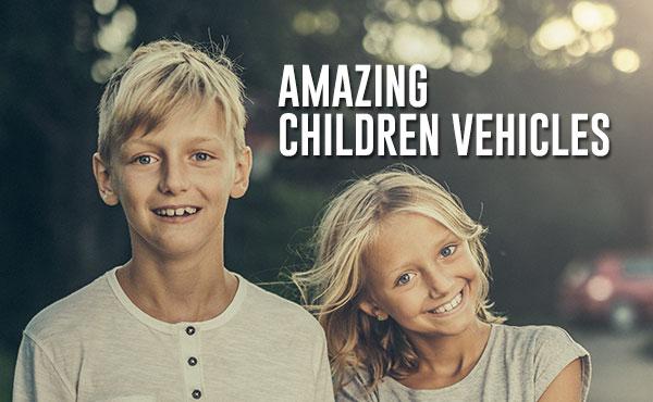 Kinderfahrzeuge - elektrische Fahrzeuge Kinder