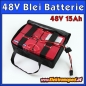 Preview: 48V 15Ah CSB High Quality Batterie Akkupack