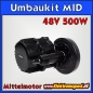Mobile Preview: 48V 500W Mittelmotor Umbaukit