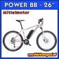 Preview: Elektro Fahrrad POWER BB 26""