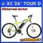 "Preview: Elektro-Fahrrad e-XC 26"" Tour D"