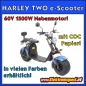 Preview: HARLEY TWO eSCOOTER 60V 1500W mit COC!