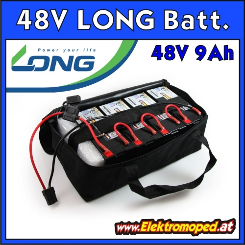48V 9Ah High Quality LONG Batterie Akkupack
