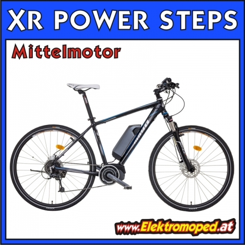 Elektro Fahrrad XR POWER STEPS