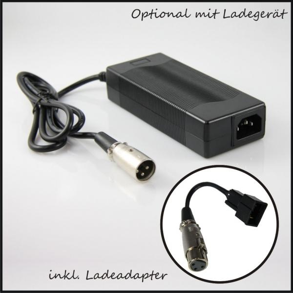 Elektro Scooter, eBikes, Li ion Batterien und mehr Long