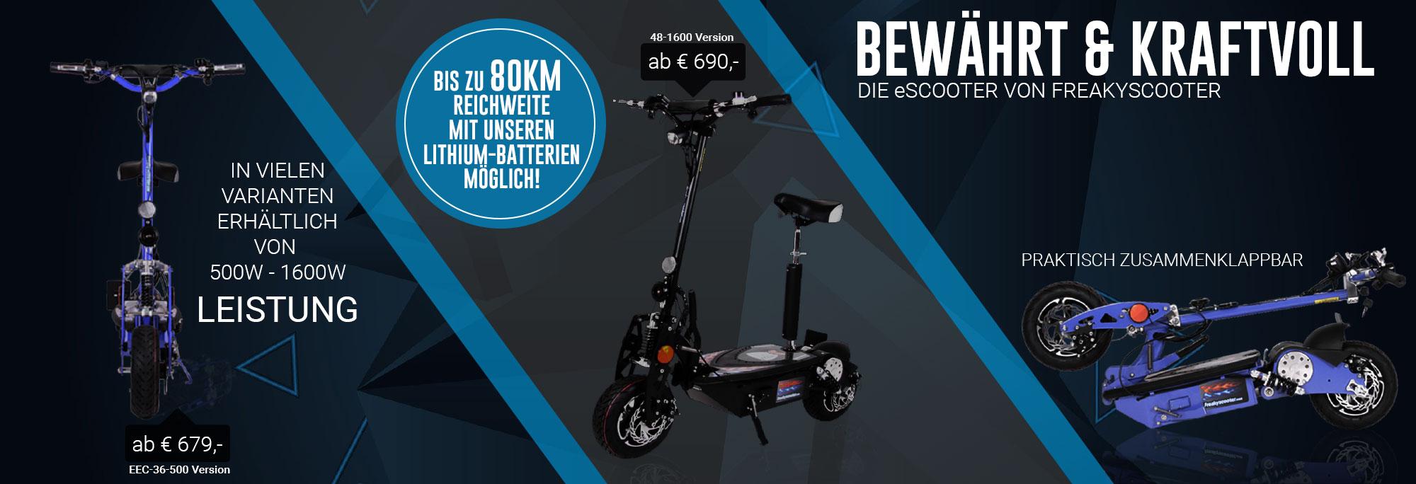 e scooter auf rechnung