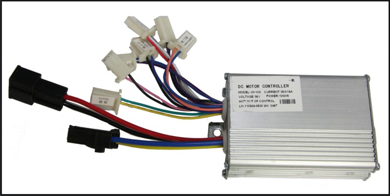 Spare Part Electric Scooter Motor Controller 48V 30//16A Model OK10S-4 1000W Eco